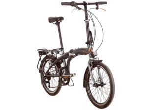 EVO Vista Folding Bike in grey and orange