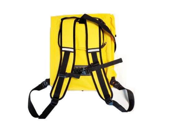 Pannier Carrying waterproof Bag Yellow 2 scaled