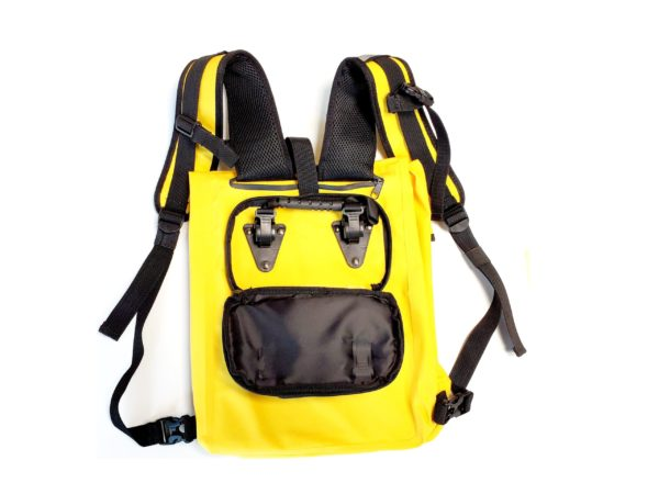 Pannier Carrying waterproof Bag Yellow 4 scaled