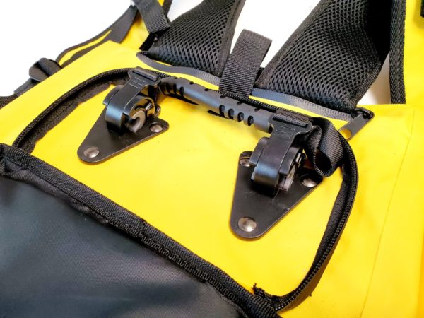 Pannier Carrying waterproof Bag Yellow 6 scaled