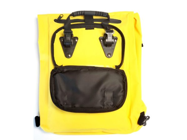 Pannier Carrying waterproof Bag Yellow 7 scaled