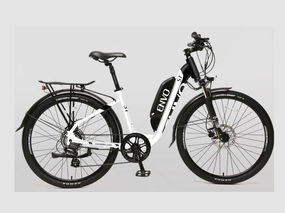 envo step thru electric bike