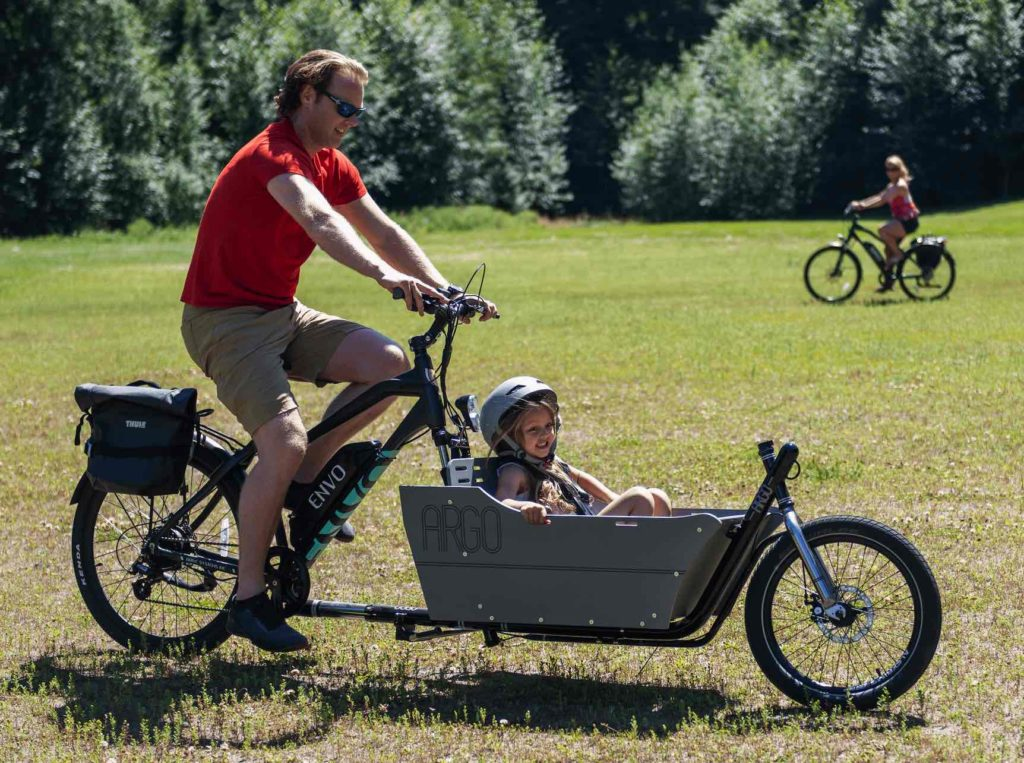 Child in ARGO cargo bike
