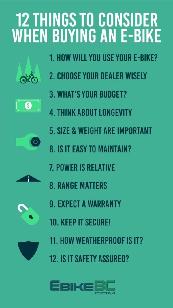 12 to consider buying an ebike