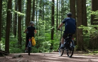 summer ebike rides vancouver