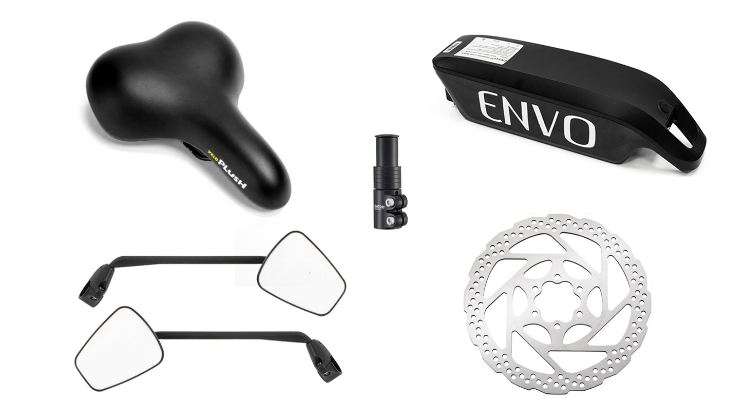 eBike Spare Parts and Accessories